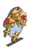 Raspberry Blondie 3 Star Mastery Sign-icon