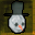 Snowman Mask with Hat Icon