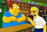 Comic Book Guy &amp; Stan Lee
