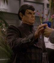Romulan committee member at banquet 2