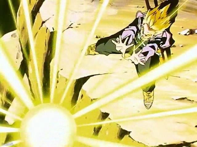 dragon ball z super saiyan trunks. the coolest Super Saiyan ?