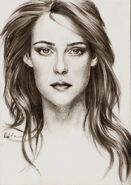 Kristen Stewart by eumika23mcl