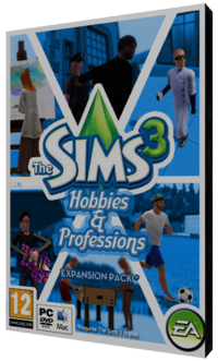 Thesims3 hobbies&amp;professions cover byandy
