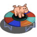 Pig Trampoline-icon