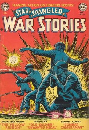 Cover for Star-Spangled War Stories #16
