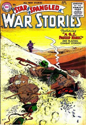 Cover for Star-Spangled War Stories #36