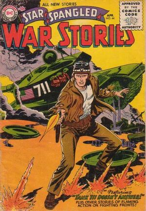 Cover for Star-Spangled War Stories #44