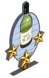 White Sangria 3 Star Mastery Sign-icon