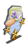 Iris Soap 3 Star Mastery Sign-icon