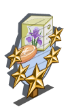 Iris Soap 5 Star Mastery Sign-icon