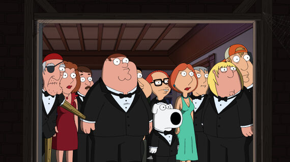 Family Guy Season 9 Episode 1 And Then There Were Fewer