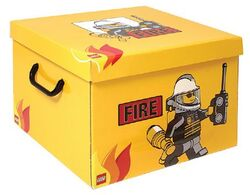 SD535yellow Storage Box XXL Fire Yellow