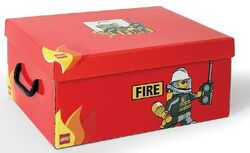 SD536red Storage Box XL Fire Red