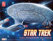 AMT Model kit AMT662 USS Enterprise-D 2010