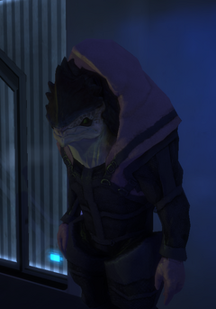 Krogan Bouncer at Chora's Den