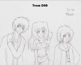 Team DNA Human no color nor details