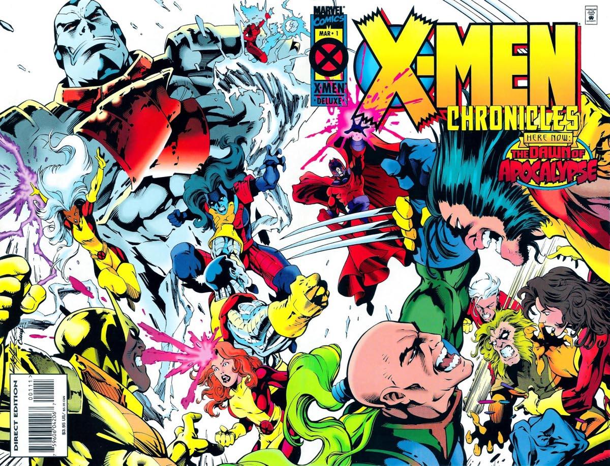 A Jövendő Múlt Napjai X-Men_Chronicles_Vol_1_1_Wraparound
