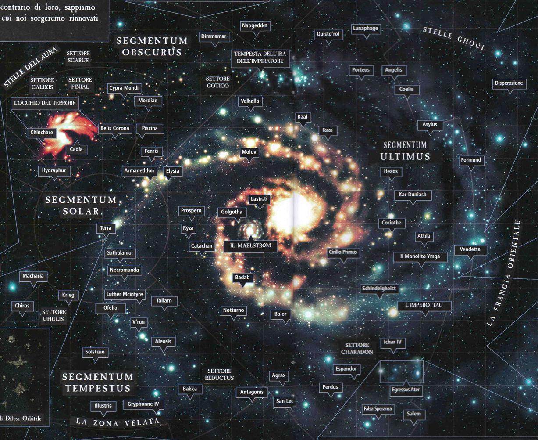Warhammer 40K Universe Map