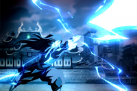 Azula fires Lightning small