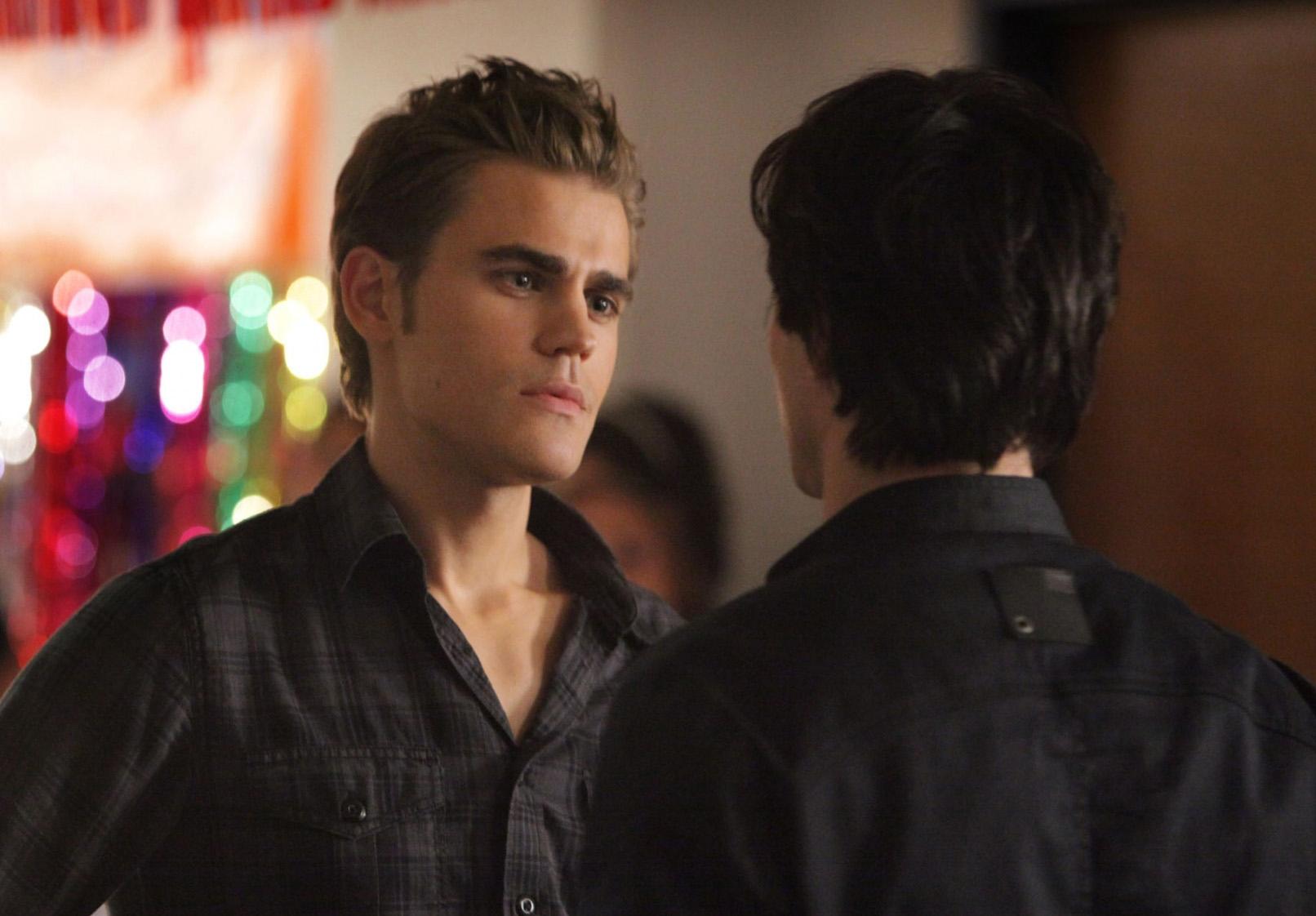 vampire diaries damon and stefan. Vampire Diaries Damon And