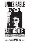 Undesirable No. 1 Harry Potter poster 01