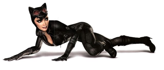 Catwoman from Arkham City