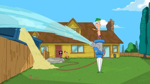 backyard beach phineas and ferb wiki your guide to phineas and