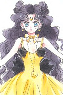 Sailor moon luna human form manga