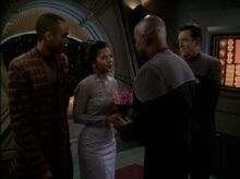 Sisko marries Kasidy