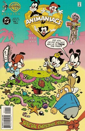 Cover for Animaniacs: A Christmas Special #1