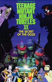 Pooh's Adventures of Teenage Mutant Ninja Turtles II- The Secret of the Ooze