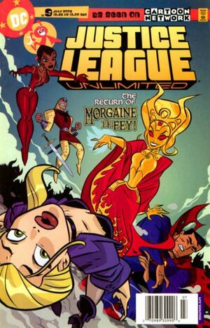 Cover for Justice League Unlimited #9