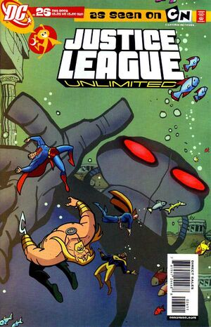Cover for Justice League Unlimited #26