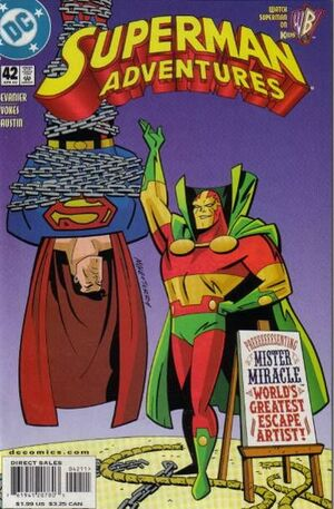 Cover for Superman Adventures #42
