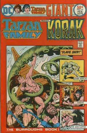 Cover for Tarzan Family #61