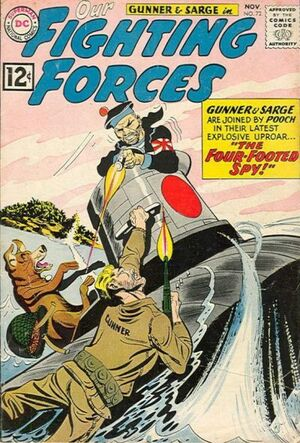Cover for Our Fighting Forces #72
