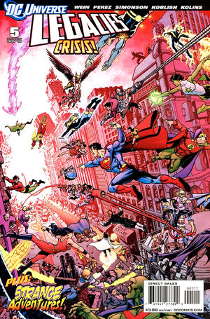 Cover for DC Universe Legacies #5