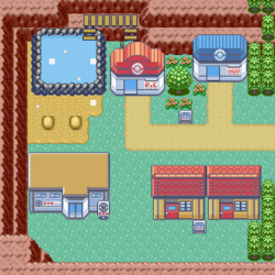 Ruby-Sapphire Lavaridge Town