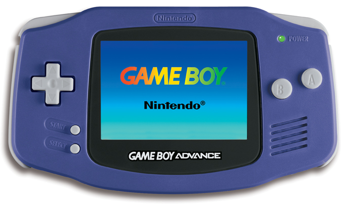 the game boy advance manufacturer nintendo type handheld game console