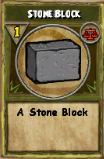 Stone Block (Reagent)