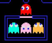 Pac-man ghosts blinky inky