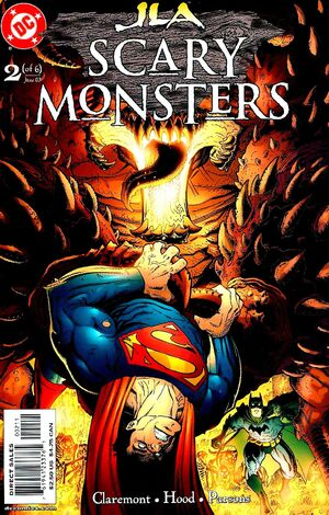 Cover for JLA: Scary Monsters #2
