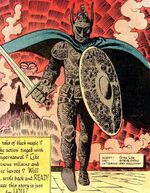 Strange Tales Vol 1 108 page 28 Black Knight (Animated Armor) (Earth-616)