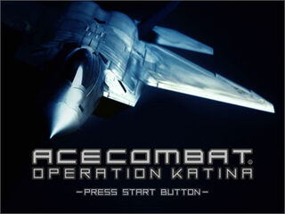Operation Katina Start Screen