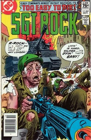 Cover for Sgt. Rock #369