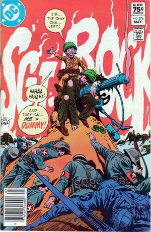 Cover for Sgt. Rock #376
