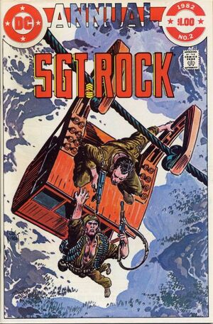 Cover for Sgt. Rock Annual #2
