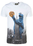 Cookie monster - empire state building tshirt