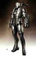 War Machine Movie Suit Concept