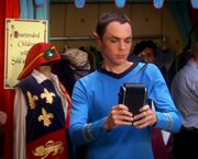 Big Bang Theory Sheldon as Spock